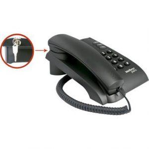 Telefone Pleno Preto C/Chave