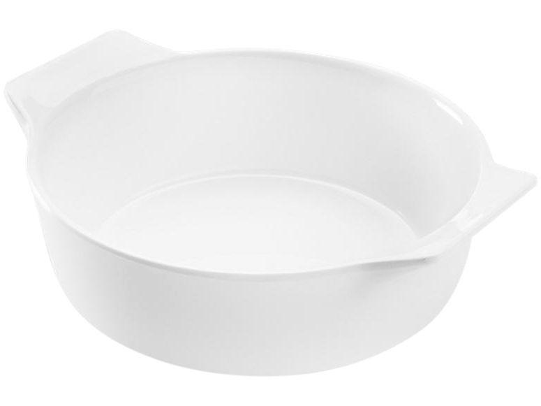 Tigela Redonda Bowl com Alcas Buffet Branca 14,5×12,5×4,7 280ml