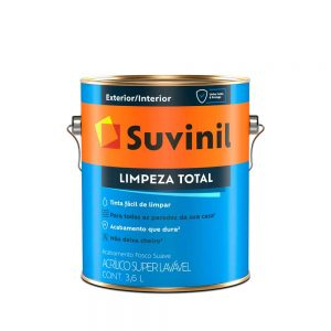 Tinta Suvinil Acrílico Limpeza Total 3,6L