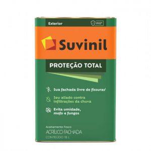 Tinta Suvinil Acrílico Proteção Total Branco 18L