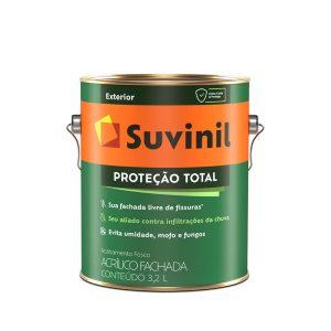 Tinta Suvinil Acrílico Proteção Total Branco 3,6L