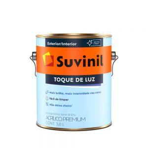Tinta Suvinil Acrílico Semi Brilho Toque de Luz 3,6L
