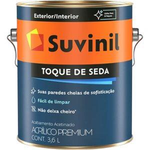 Tinta Suvinil Acrílico Toque de Seda Branco 3,6L