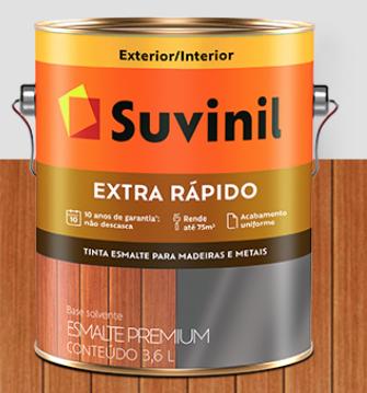 Tinta Suvinil Esmalte Extra Rápido 3,6L