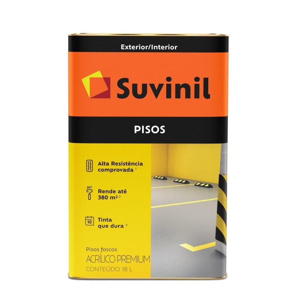 Tinta Suvinil Pisos Premium Fosco 18L