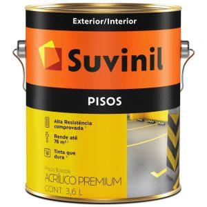 Tinta Suvinil Pisos Premium Fosco 3,6L