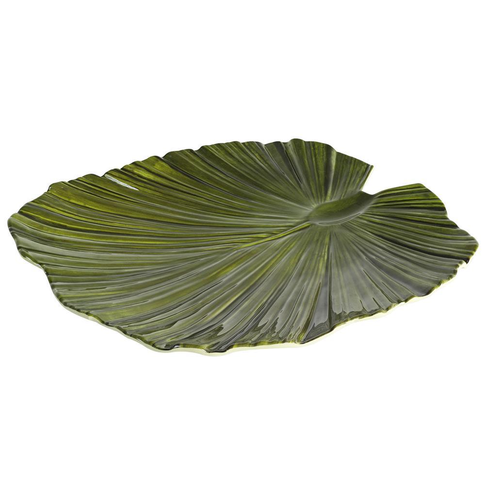 Travessa Folha Verde 35,2×34,3×4,2