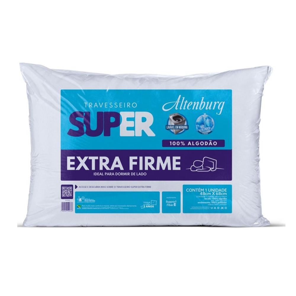 Travesseiro Altenburg 48×68 Super Suporte Extra Firme Branco