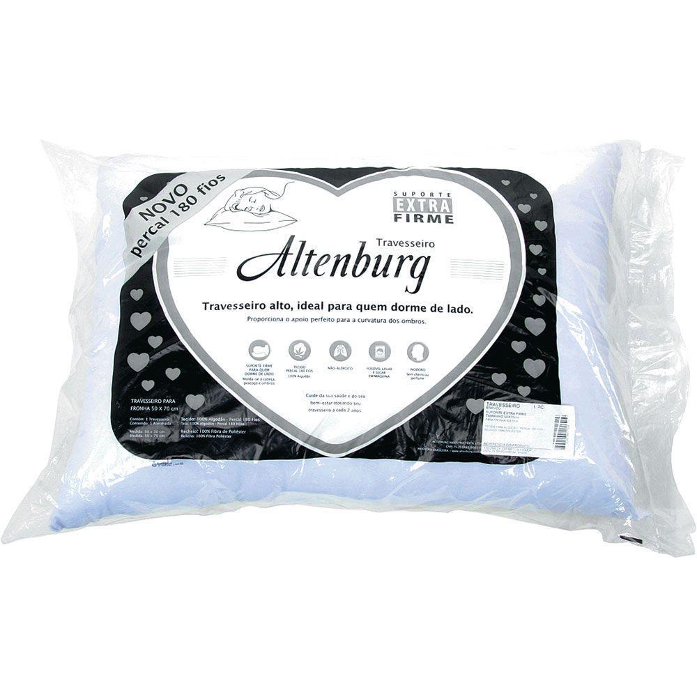 Travesseiro Altenburg 50×70 Suporte Extra Firme 180 Fios