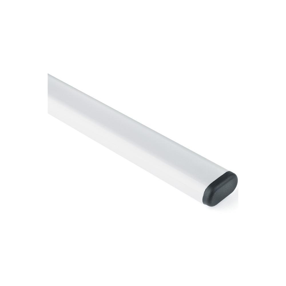 Tubo Cabideiro Branco 100cm