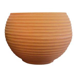Vaso Esfera 34Cm Terracota (Jveft34)