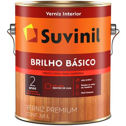 Verniz Suvinil Brilho Básico 3,6L