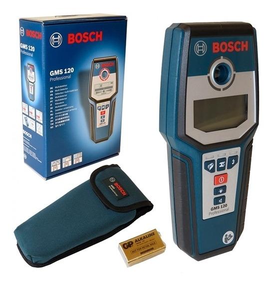 Detector de Materiais Bosch Gms 120 Professional