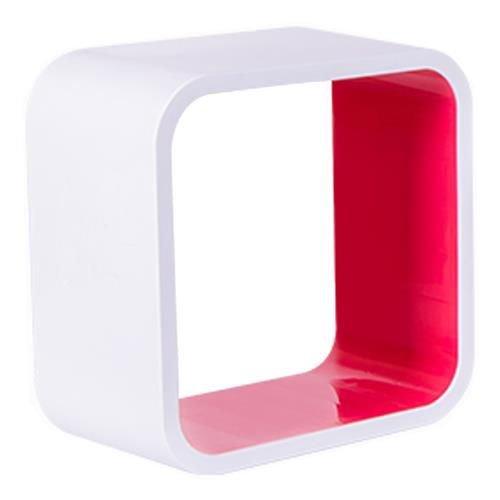 Nicho Quadrado Plástico Astra 36cm Rosa