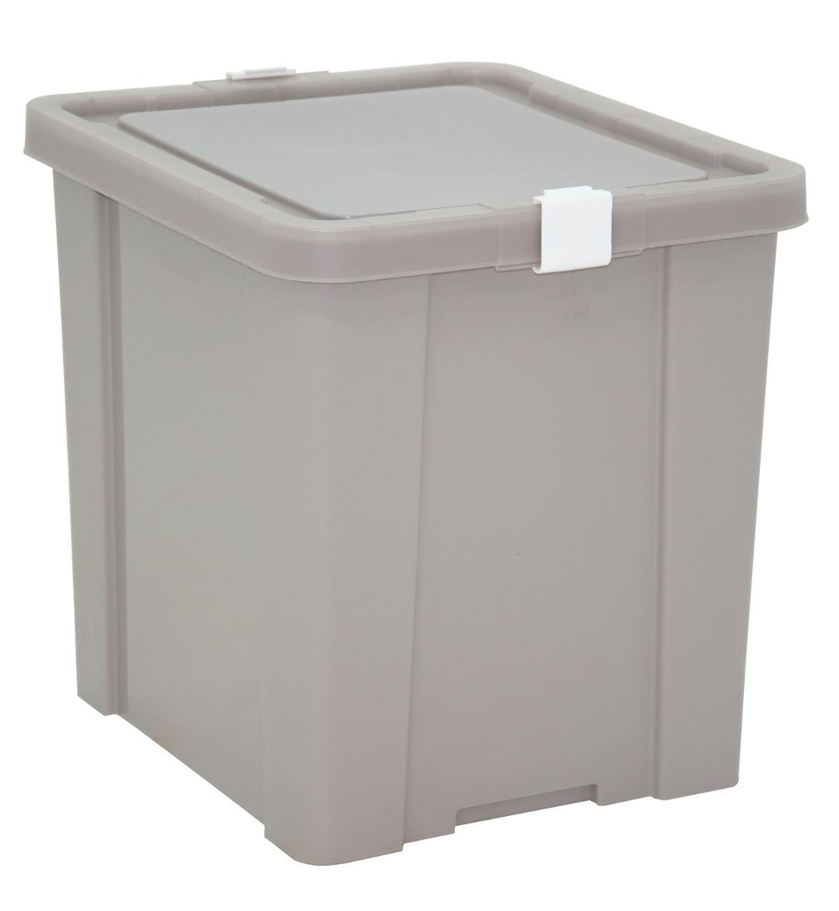 Caixa Organizadora 42L Tramontina Laundry Concreto
