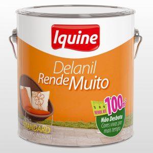 Tinta Iquine Acrílico Delanil Branco Neve 3,6L