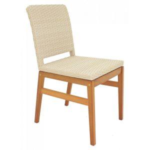 Cadeira de Madeira e Fibra Varanda Urbana Tramontina Bege