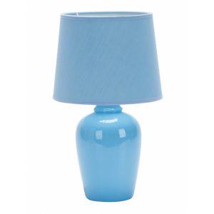 Abajur de Cerâmica Taschibra Pottery 32cm E27 Azul