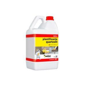 Aditivo Plastificante Quartzolit 3,6L