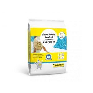 Argamassa Quartzolit AC III Branca Cimentcola Flex Externa 20kg