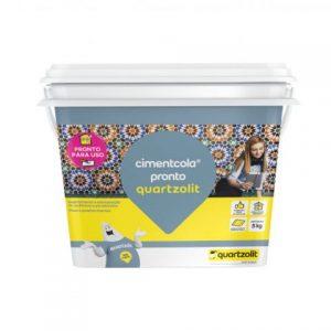 Argamassa Quartzolit Cimentcola Pronto 5kg