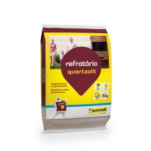 Argamassa Quartzolit Refratária Alta Temperatura 5kg