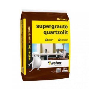 Argamassa Quartzolit Supergraute 25kg