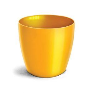 Cachepô Elegance Redondo 2L Amarelo