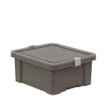 Caixa Organizadora 17L Tramontina Laundry Concreto