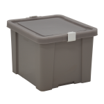 Caixa Organizadora 30L Tramontina Laundry Concreto