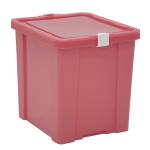 Caixa Organizadora 42L Tramontina Laundry Rosa