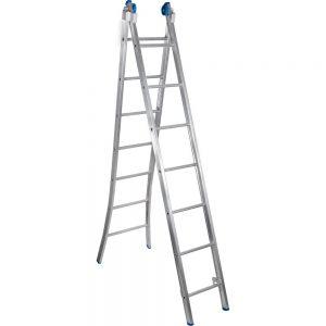 Escada Extensiva Articulada Alumasa 7 Degraus