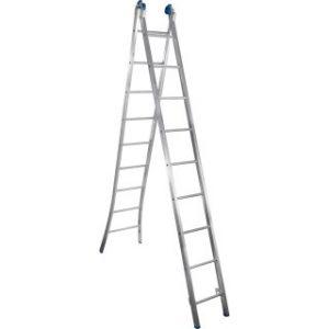 Escada Extensiva Articulada Alumasa 9 Degraus