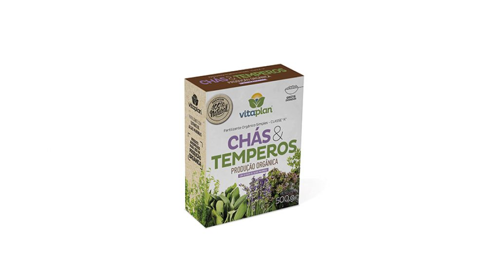 Fertilizante Chás e Temperos 500g