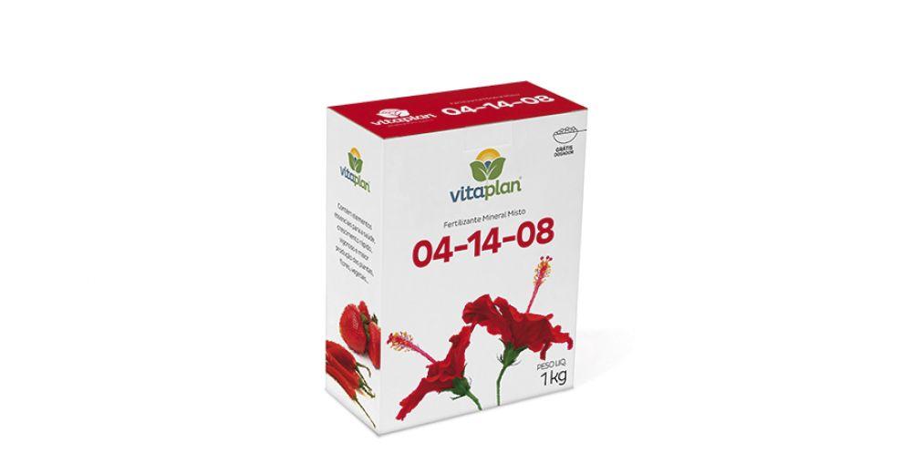 Fertilizante Mineral Misto 04-14-08 1kg Plantio (8000107-U)