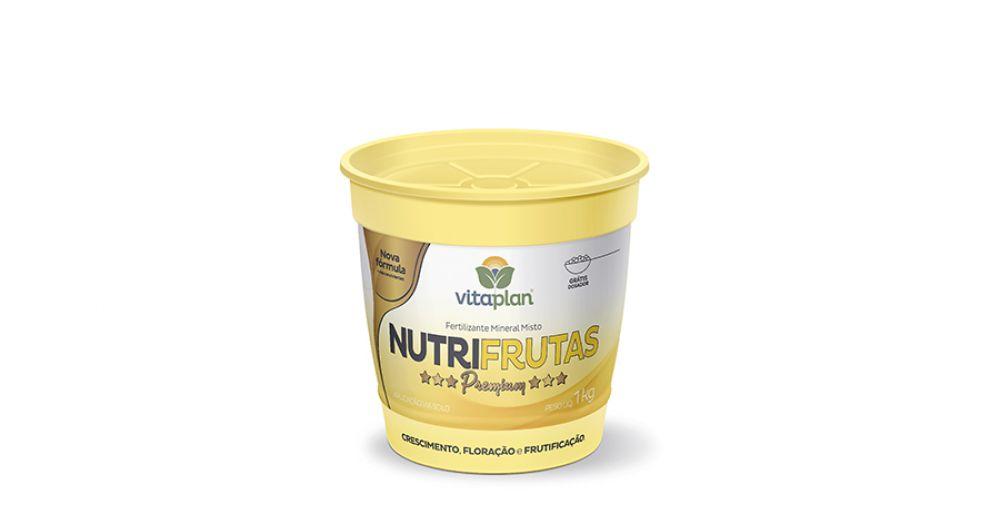 Fertilizante Mineral Misto Nutrifrutas 1kg Pote