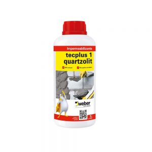 Impermeabilizante Tecplus 1 Quartzolit 1L