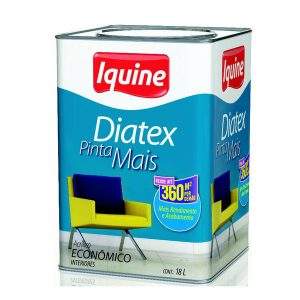 Iquine Látex Diatex Branco Neve 18L