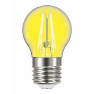 Lâmpada Taschibra LED Filamento Color G45 Amarela