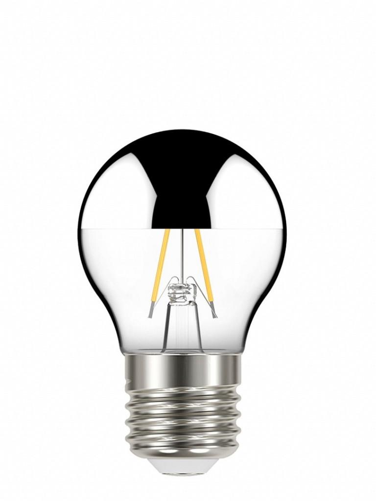 Lâmpada Taschibra LED Filamento Defletora Globo G45