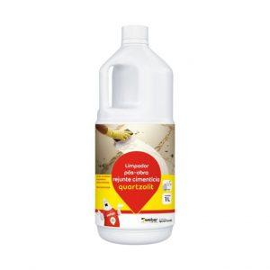 Limpador para Rejunte Cimentício 1L Quartzolit