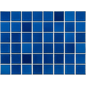 Pastilha Porcelana Belamari 5×5 Azul Astúrias 1,08m/9pçs