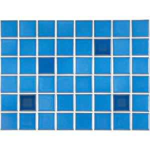 Pastilha Porcelana Belamari 5×5 Azul Paquetá 1,08m/9pçs
