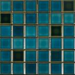 Pastilha Porcelana Belamari 5×5 Verde Calhetas 1,08m/9pçs