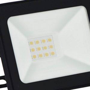Refletor Taschibra TR LED 10W 3000K Preto
