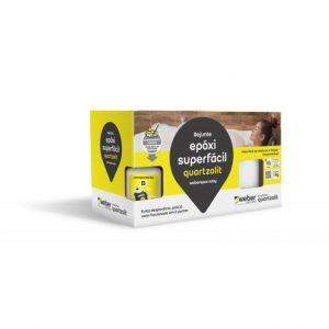 Rejunte Quartzolit Epóxi Superfácil 1kg