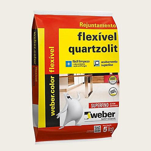 Rejunte Quartzolit Flexível 5kg