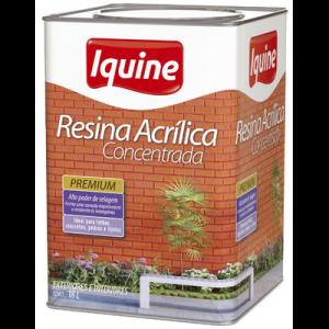 Resina Acrilica Concentrada Incolor Iquine 18L