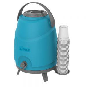 Botijão Térmico Estacionário Aspen 12L Azul