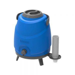 Botijão Térmico Estacionário Aspen 9L Azul